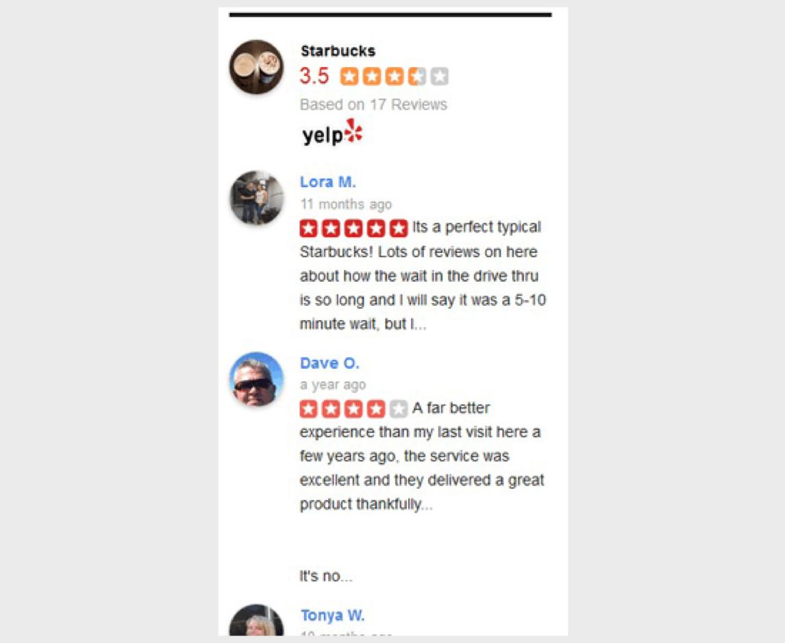 yelp recensies