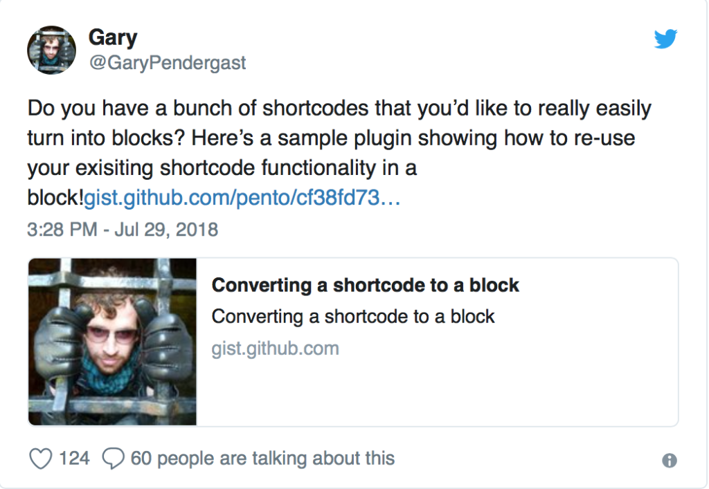 shortcodes converteren