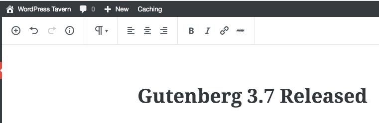 gutenberg 3.7