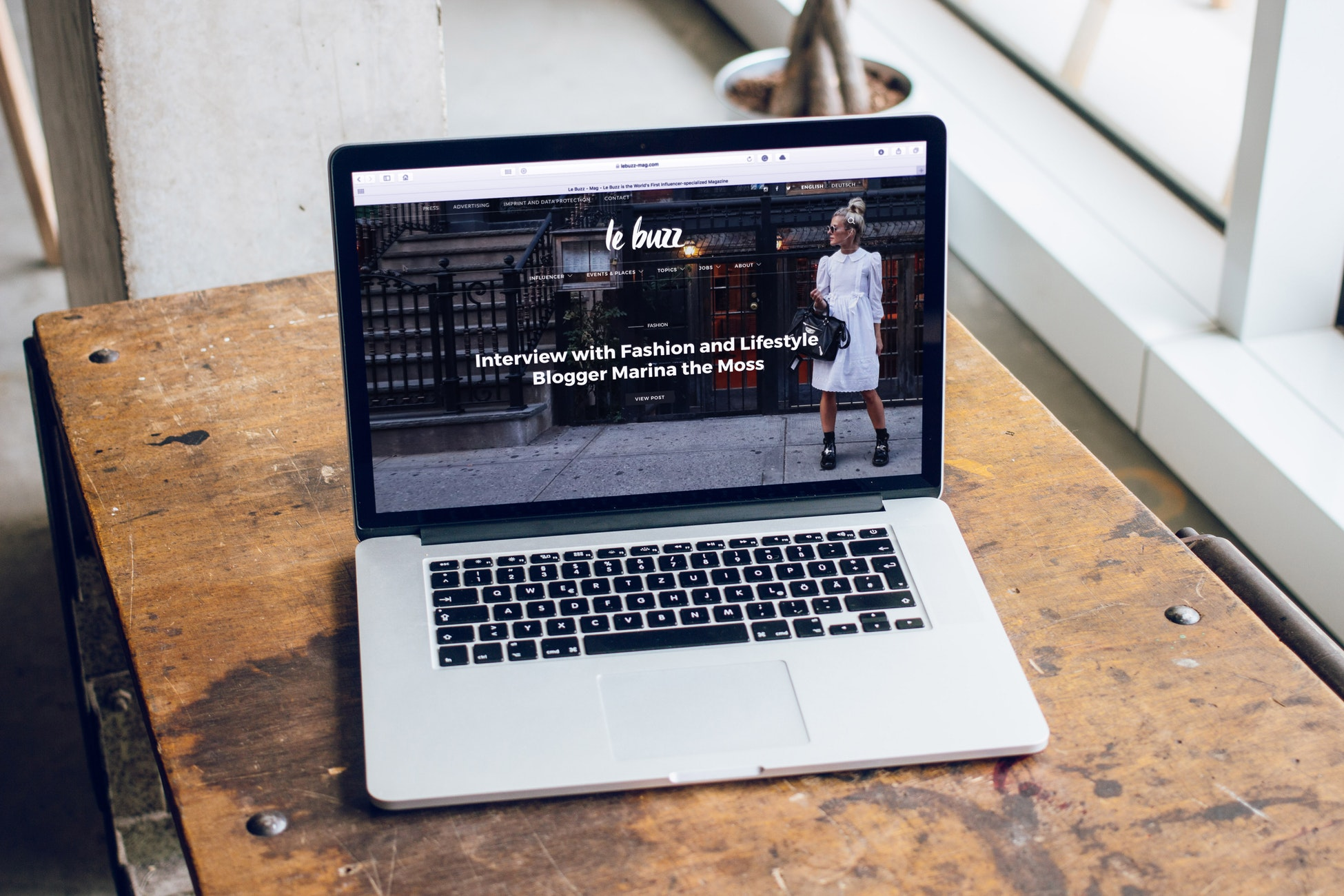 professionelere wordpress website
