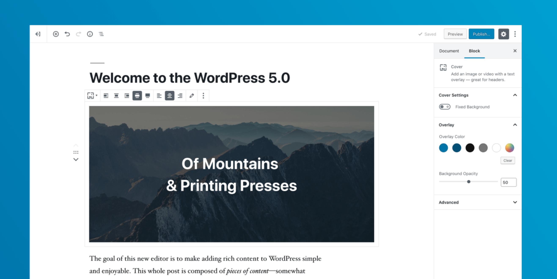 WordPress 5.0 Release Candidate