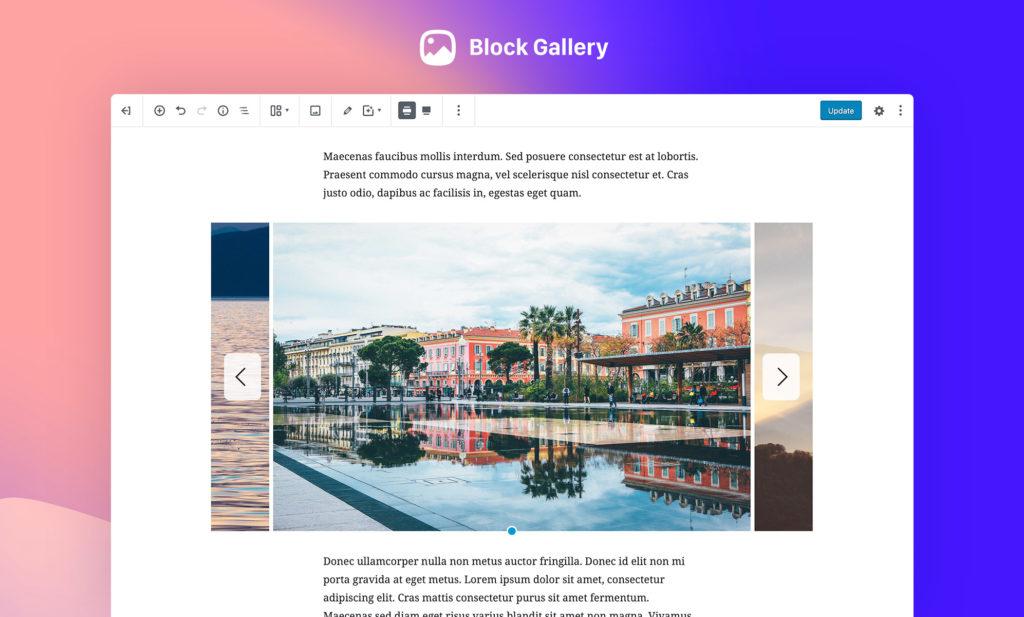 block gallery plugin