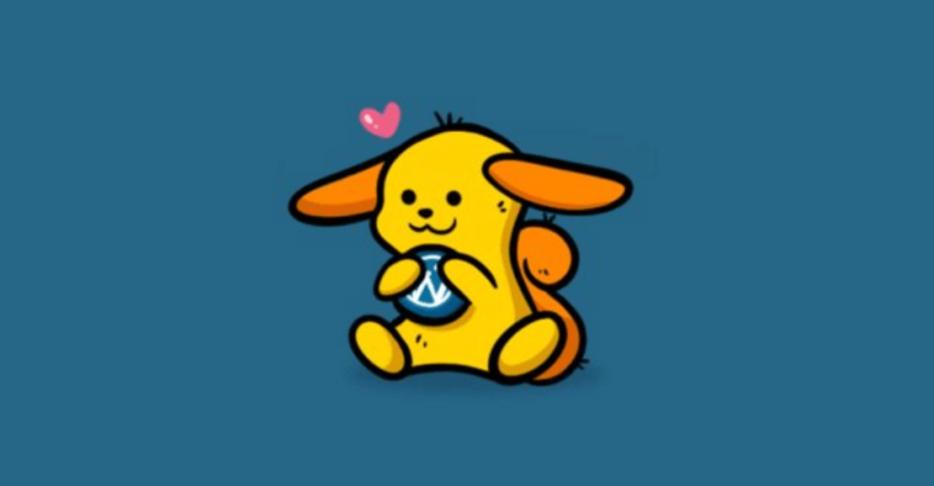 wapuu dashboard pet