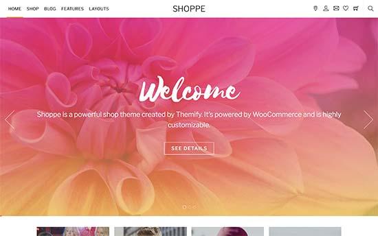 Shoppe template