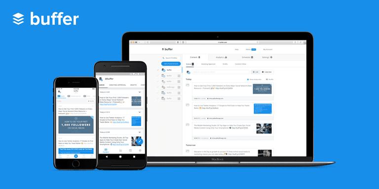 Buffer app social