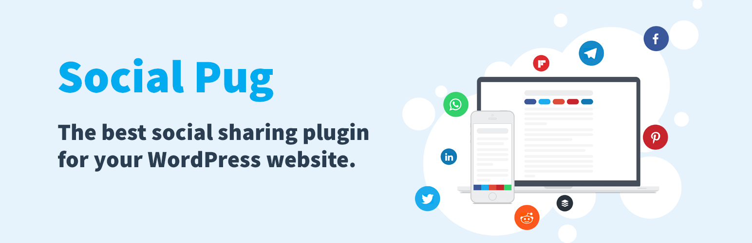 social pug social media plugin wordpress