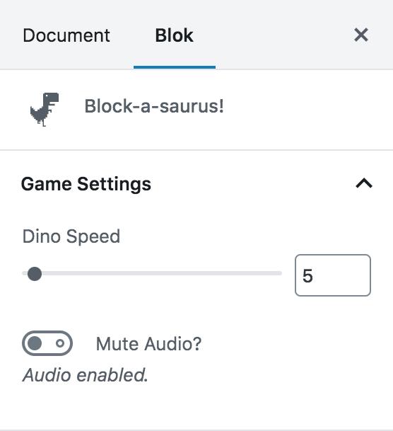 block-a-saurus plugin