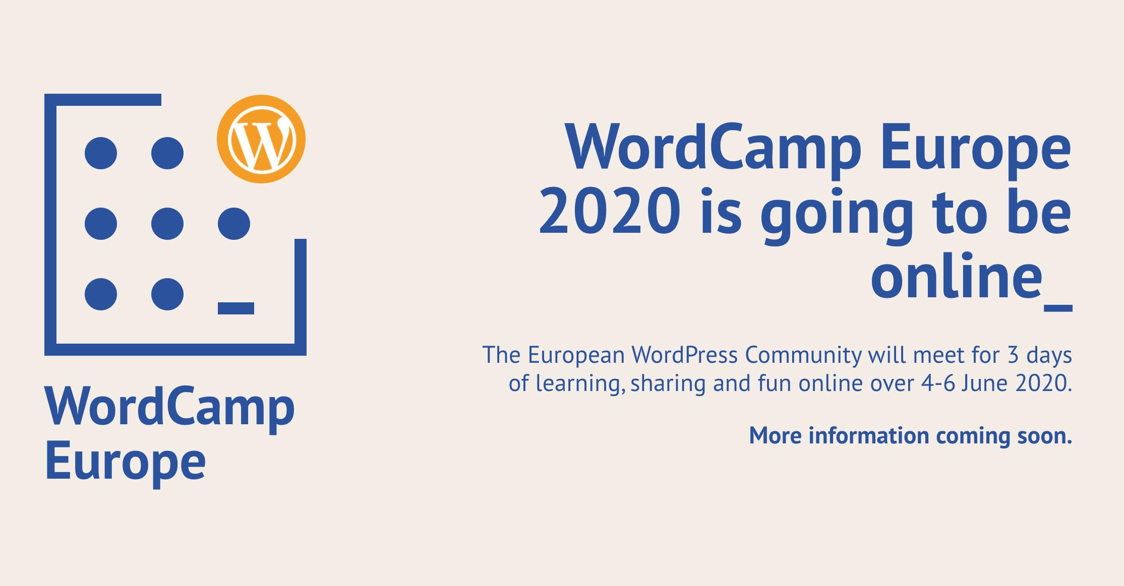 word camp europe 2020 online