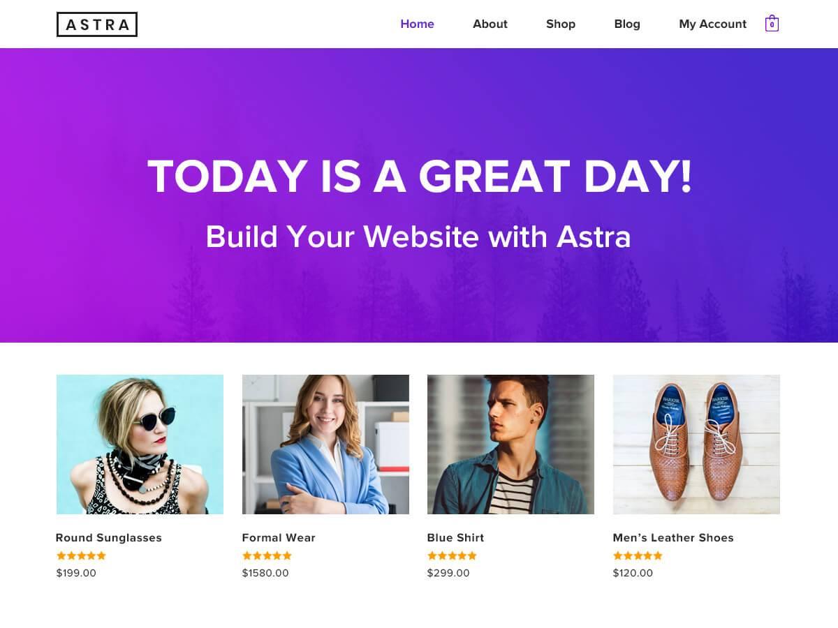 Astra is het eerste niet-standaard WP thema met 1 miljoen actieve installaties