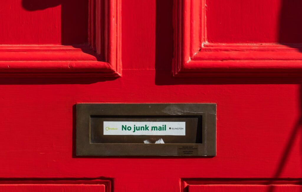 tips tegen spam