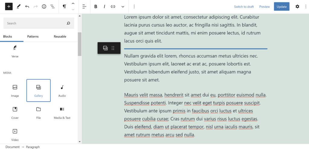 Gutenberg 9.6