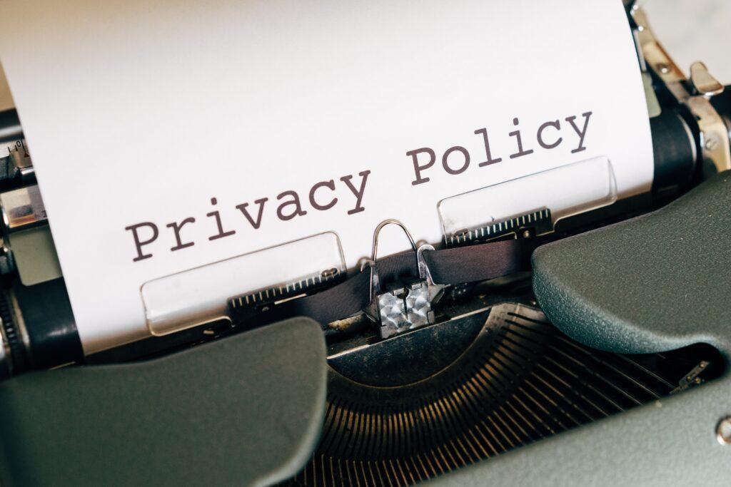 privacy beleid in WordPress